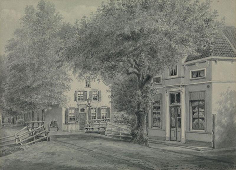 De Schiebrug - 1885