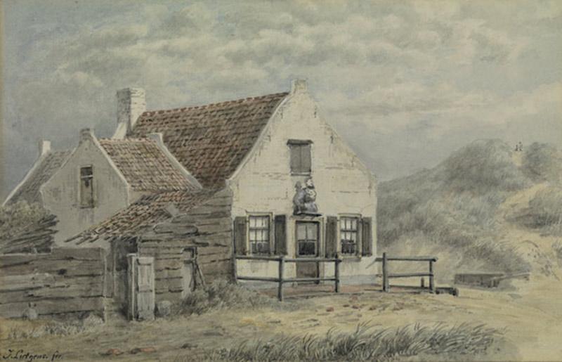 De Zeetaveerne van Vliet Vlieland – circa 1885