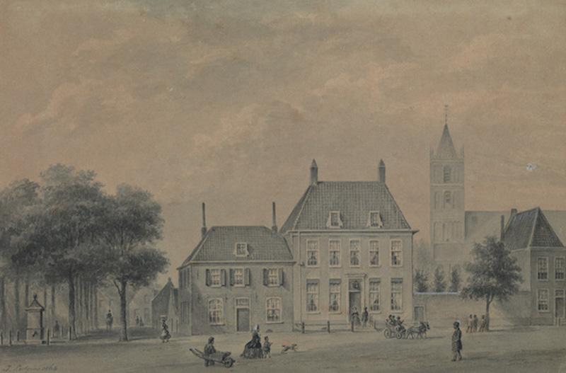 Het Instituut Schreuders – Voorstraat - 1867