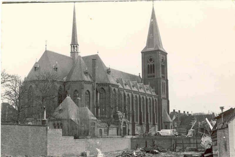 St. Jeroenskerk uit begin 20 eeuw met relieken va de H Jeroen