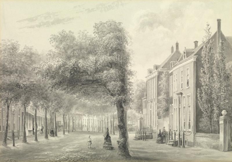 Voorstraat  - 1876