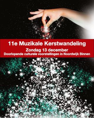 Muzikale Kerstwandeling Noordwijk Binnen