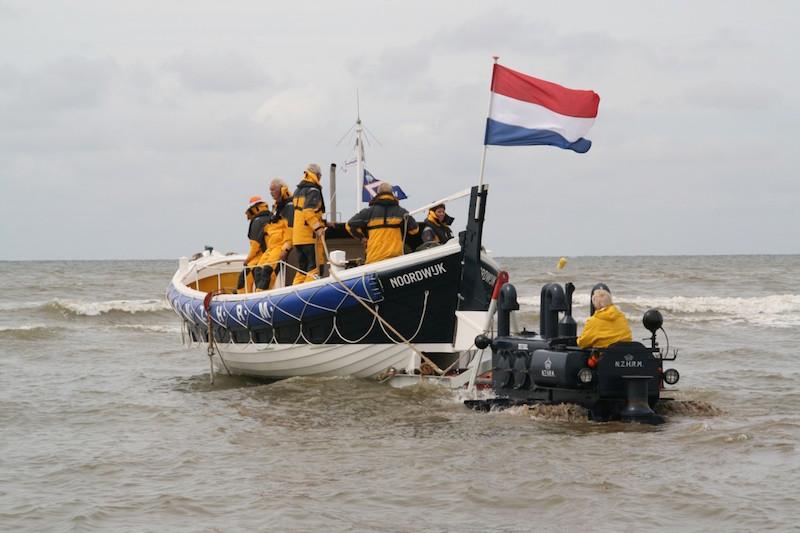 Kurt Carlsen lancering Katwijk SAR