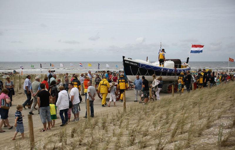 Kurt Carlsen demonstratie Katwijk