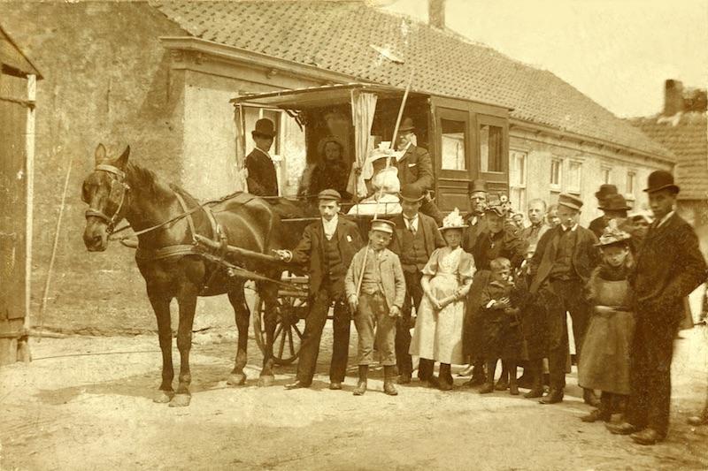 Vervoer Paarden-omnibus