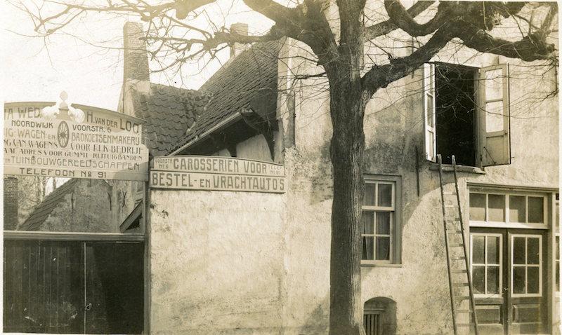 Wagenmaker Van der Loo, Voorstraat nr 19 (A Barnhoorn) 1