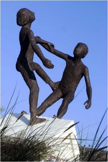Frans en Truus van der Veld - Balancerende Kinderen