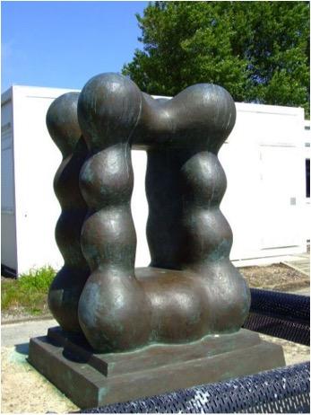Karen Oude Alink - Abstract open rechthoek